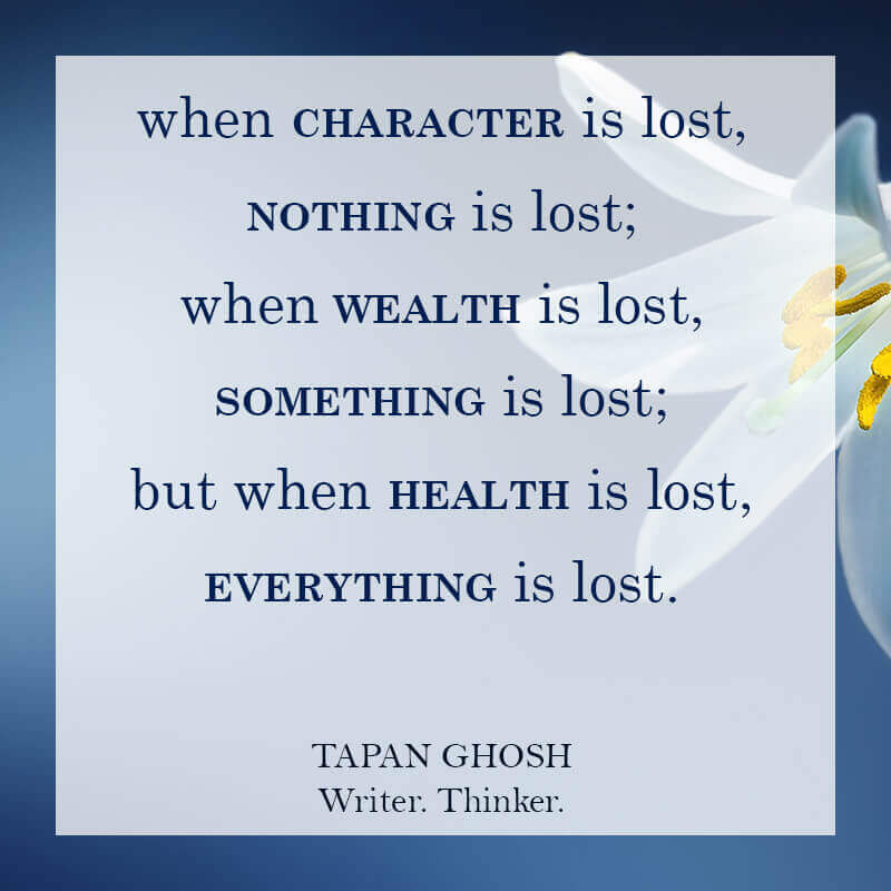 Character Quotes: Is Tapan Ghosh Out Of His Mind?